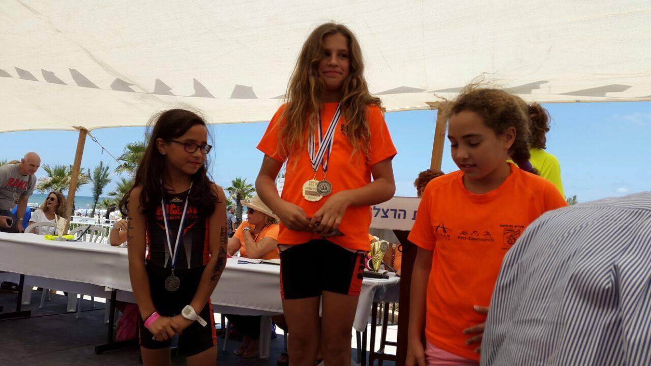 טריאתלון נשים 2015